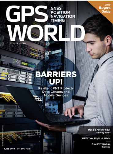Cover photo: GPS World Staff