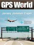 GPS World April 2012 cover