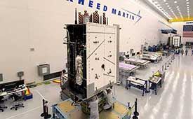 GPS III SV03 is scheduled to launch on June 30.. (Photo: Lockheed Martin)