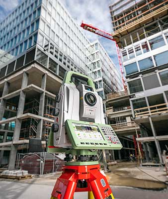 The new version of all-in-one MultiStation addresses a wide range of needs. (Phoeo: Leica Geosystems)