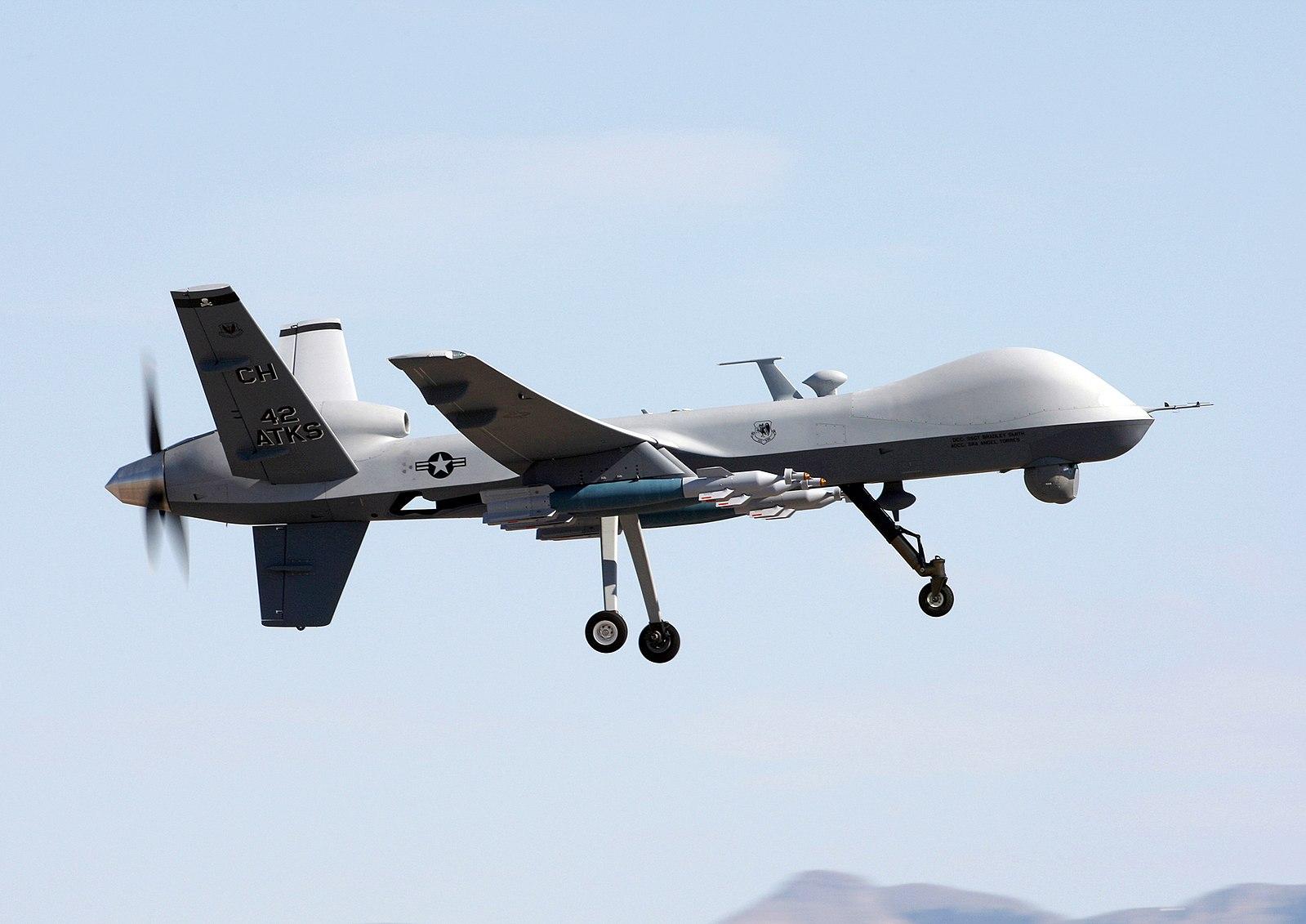 The MQ-9 Reaper drone. (Photo: U.S. Air Force/Paul Ridgeway)