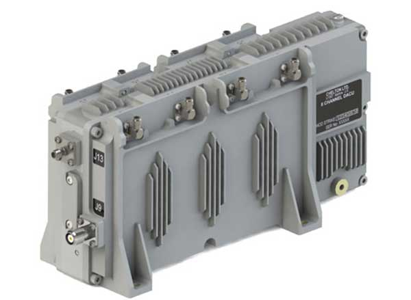 Cobham beam-forming anti-jam GNSS digital antenna control unit. (Photo: Cobham)
