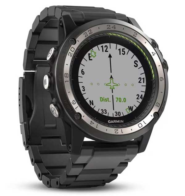 The Direct-to feature within D2 Charlie watch. (Photo: Garmin)