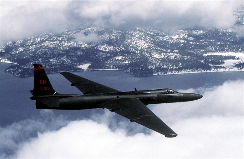 A U.S. Air Force U-2 Dragon Lady flies a training mission. (Photo: U.S. Air Force photo by Master Sgt. Rose Reynolds):
