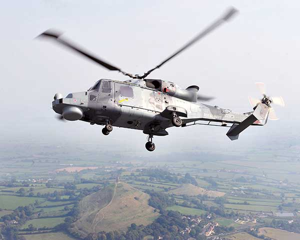 Cobham make the anti-jam GPS for the Lynx Wildcat. (Photo: UK Ministry of Defense)