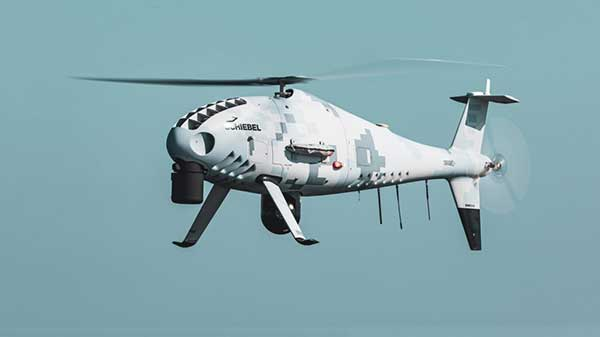 Schiebel Camcopter S-100. (Photo: Schiebel)