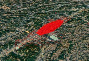 Project area. (Photo: CHC Navigation)