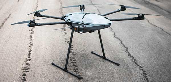 DroneHunter F700. (Photo: Fortem Technologies)