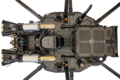Underside of the DroneHunter F700. (Photo: Fortem Technologies)Photo: