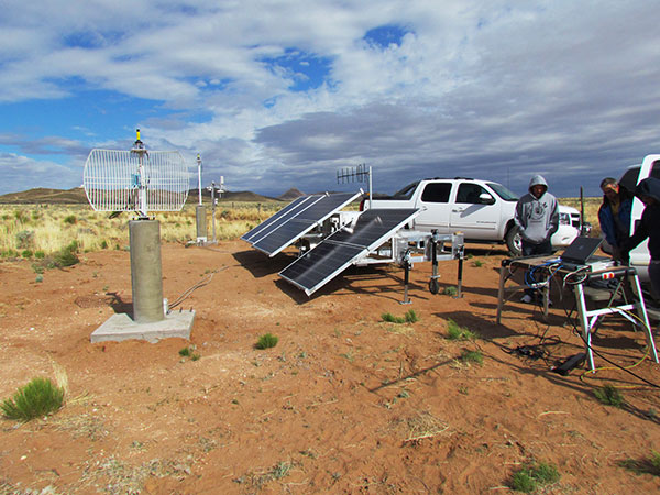FIGURE 4. NGBPS transmitter site.
