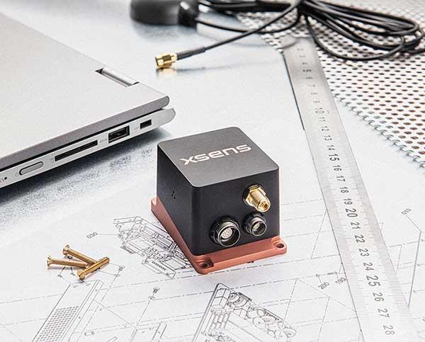 The MTi-680G GNSS/INS module. (Photo: Xsens)
