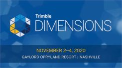 Logo: Trimble Dimensions 2020