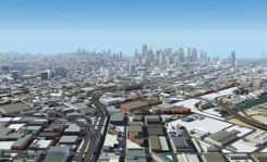 San Francisco, captured by HERE's 3D mapping technology. (Image: HERE)