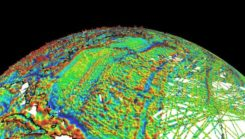 NOAA's EMAG2 World Digital Magnetic Anomaly Map. (Image: NOAA National Geophysical Data Center)