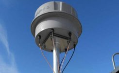 An ENAIRE GNSS RFI monitor close to the Madrid-Barajas Airport in Madrid, Spain. (Photo: ENAIRE)