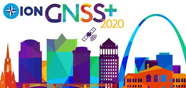 Logo: ION GNSS+ 2020