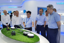 Representatives from Fuyao Glass visited Harxon's Shenzhen, China, headquarters on July 1. (Photo: Harxon)