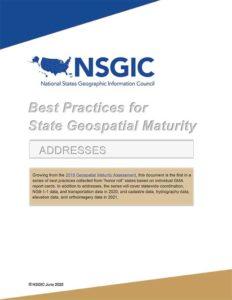 Cover: NSGIC report