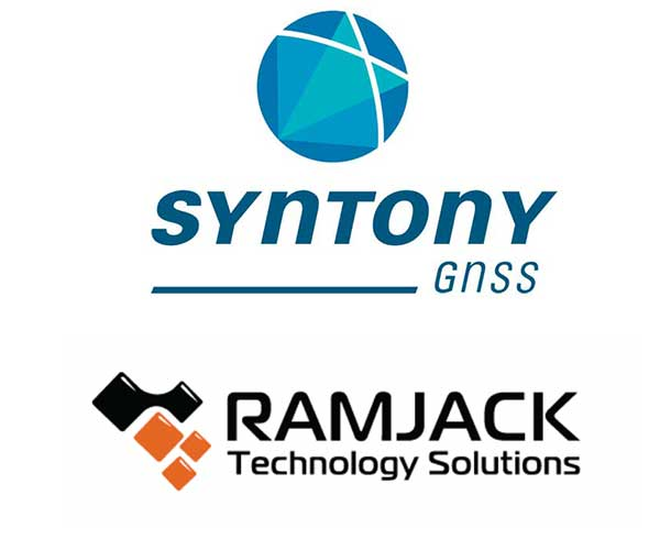 Logos: Syntony GNSS and Ramjack Technology Solutions