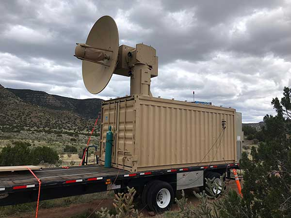 The THOR drone deterrent designed by the Air Force Research Laboratory. (Photo: AFRL)