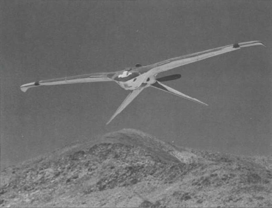 The Project Aquiline bird drone in flight.(Photo: CIA Archives)