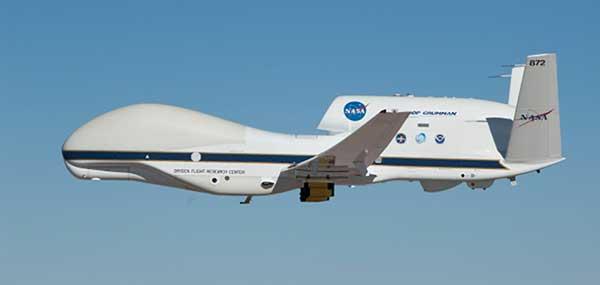 The Global Hawk. (Photo: NASA)