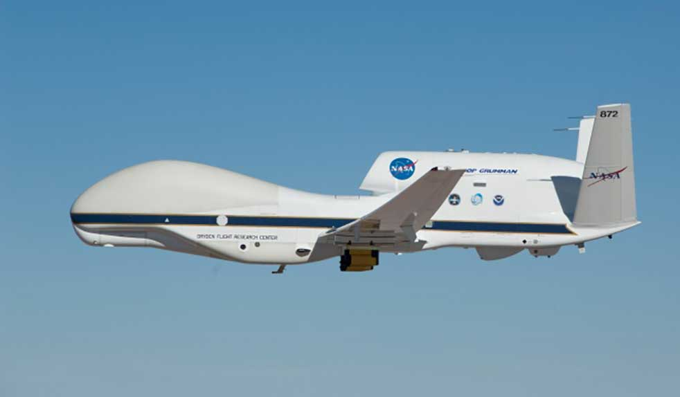 The Global Hawk. (Photo: NASA)