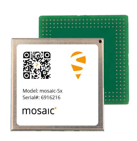 The mosaic-Sx module. (Photo: Septentrio)