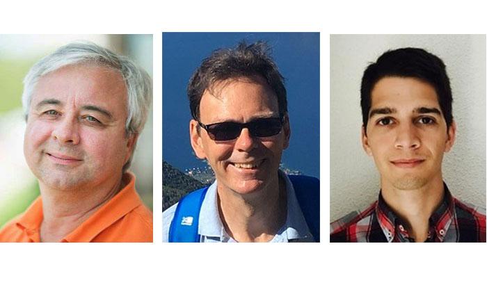Headshots: John Fischer, Tim Frost, Francisco Girela