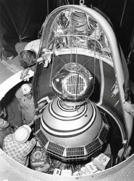 1960: ARPA launched Transit, the first satellite in what would become the world's first GPS. (Photo: U.S. Army/DARPA)