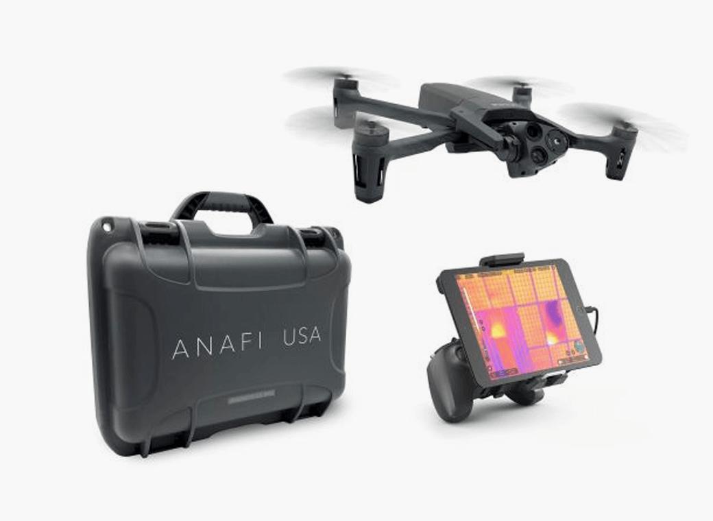The ANAFI USA drone. (Photo: Skyward)