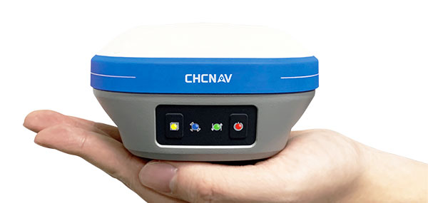 The i73 Pocket IMU-RTK GNSS. (Photo: CHCNAV)