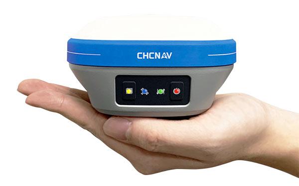 The i73 Pocket IMU-RTK GNSS. (Photo: CHCNAV)