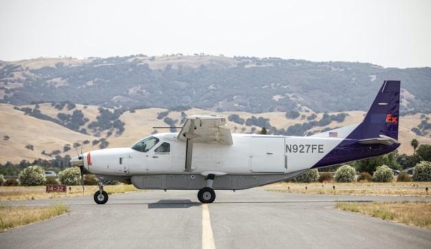 FedEx Cessna 208 Caravan. (Photo: Reliable Robotics)