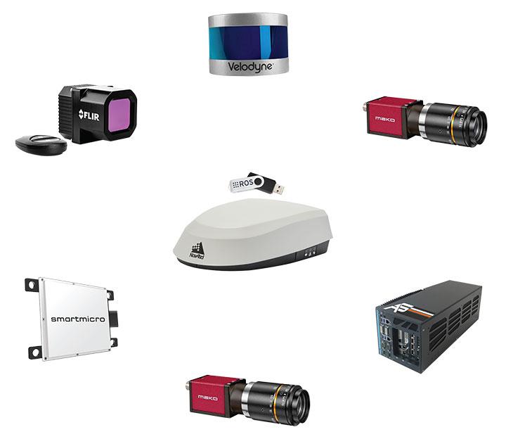 The new autonomous positioning and sensing kit. (Photo: Hexagon)
