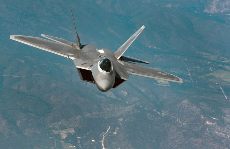 The F-22 is one of the lead platforms for EGI-M integration. (Photo: Staff Sgt. Carlin Leslie/U.S. Air Force)