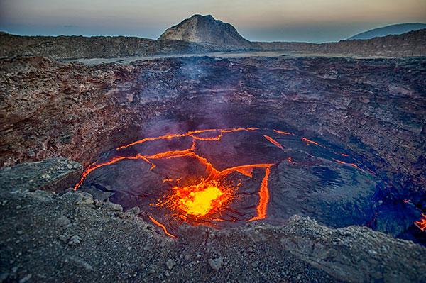 The Erta Ale volcano. (Photo: guenterguni/E+/Getty Image)
