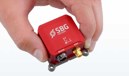 The Ellipse-N INS/GNSS (Photo: SBG Systems)