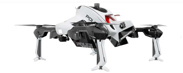 "The ""Recruit"" hi-speed drone is aimed at rapid first response users (Photo: Sonin)"