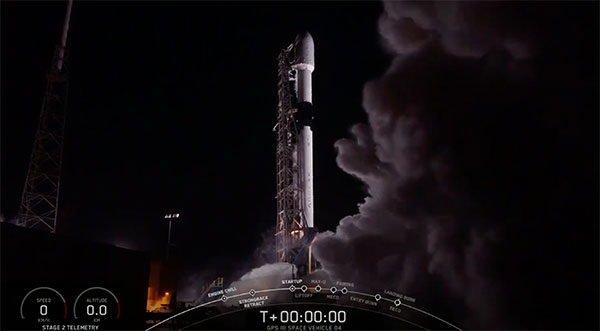 Screenshot: SpaceX
