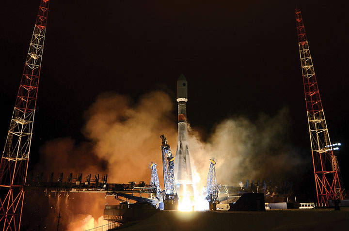 Glonass-K No. 15 was launched into orbit on Oct. 25. (Photo: Roscosmos)