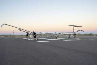 Zephyr is prepared for flight-test (Photo: Airbus)