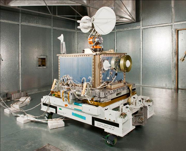 The SCaN Testbed prior to launch to the International Space Station. (Photo: NASA)
