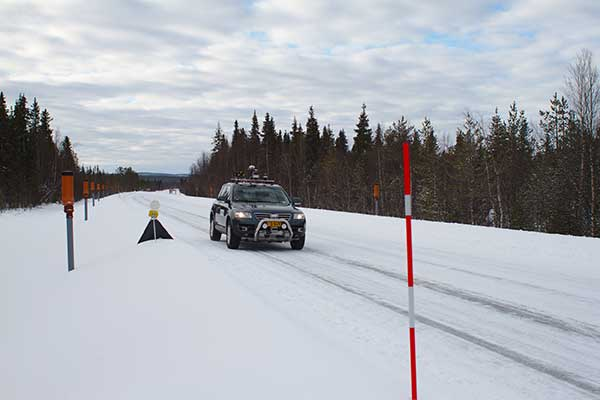 Snowbox test roadway. (Photo: ESA)