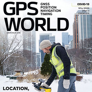 Cover photo: Emma Hardy/Eos Positioning Systems