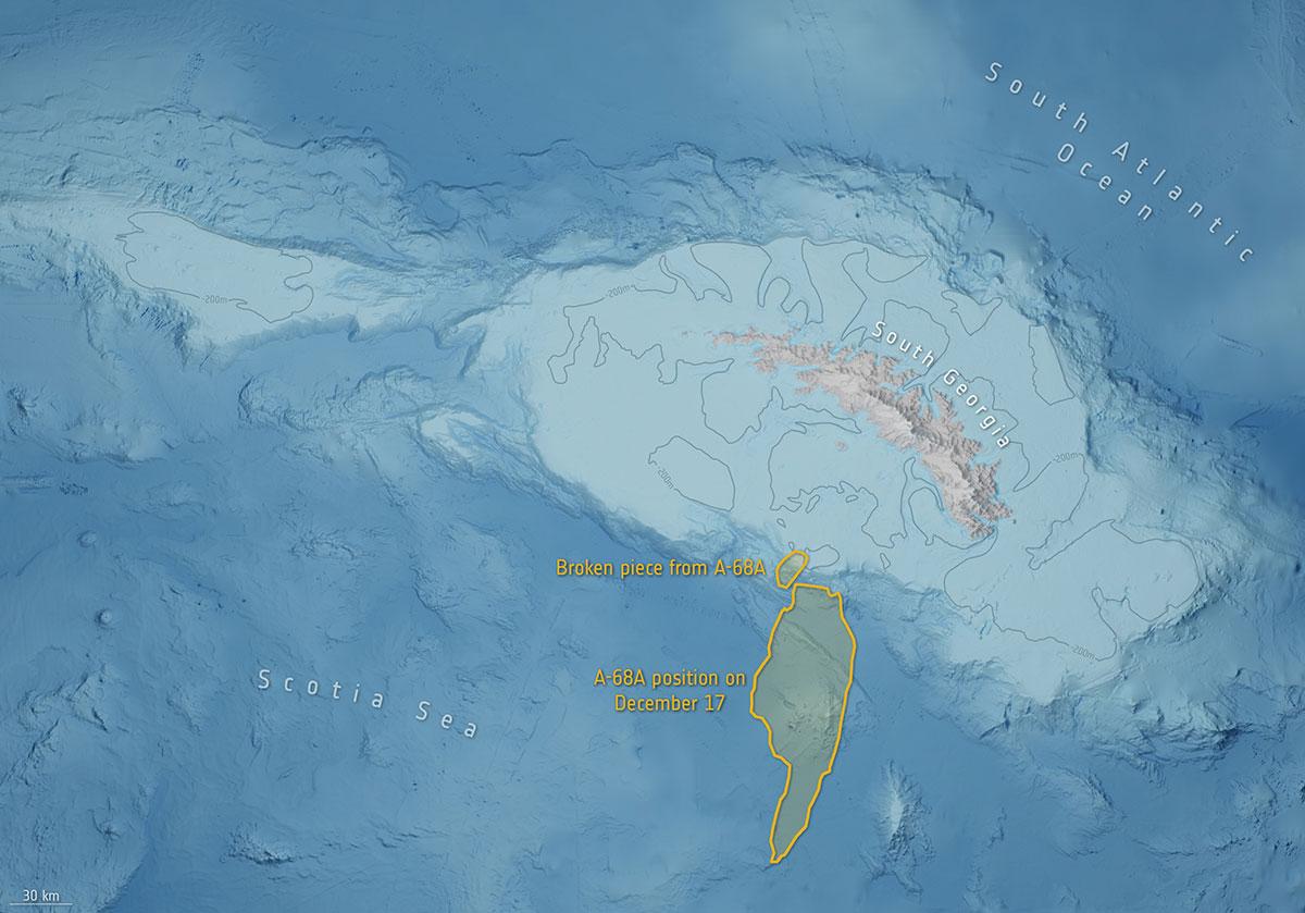 Photo: British Antarctic Survey/ESA