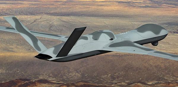 General Atomics Avenger unmanned aircraft. (Photo: GA-ASI)