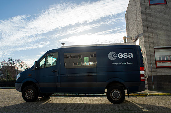 Testbed vehicle by ESA's Navigation Lab. (Photo: ESA)