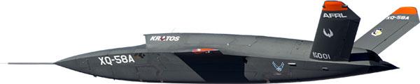 XQ-58A Valkyrie UAV. (Photo: Kratos)