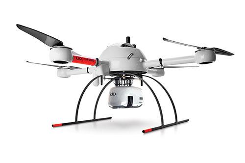 Photo: Microdrones
